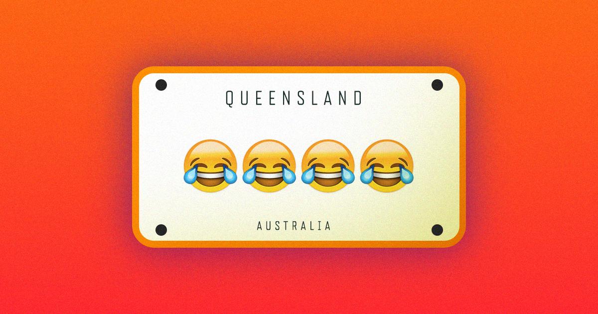 australia emoji license plate1