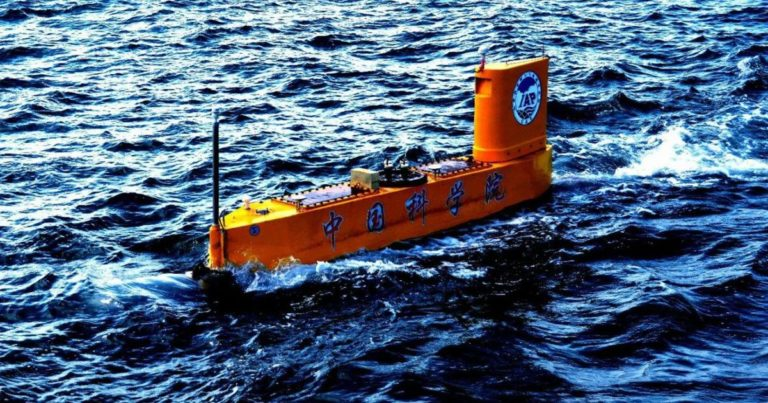 China Built a Robot Submarine to Shoot Rockets Into Typhoons