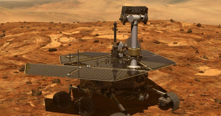 """The Dead Mars Rover Didn't Actually Say That """"My Battery"""" Thing"""