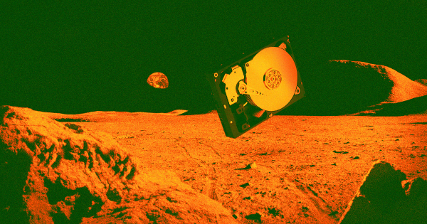 Israeli Moon Lander Is Carrying a Vast Backup of Human Knowledge