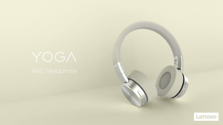 Lenovo's first noise-cancelling headphones challenge Bose and Sony
