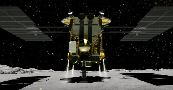 Japan Just Landed a Robot Spacecraft on an Asteroid