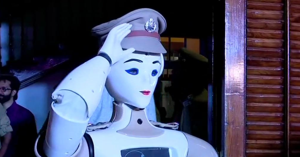 India Just Swore in Its First Robot Police Officer