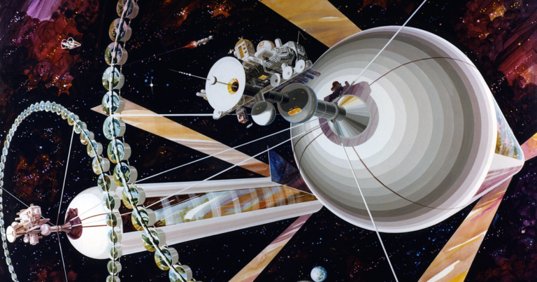 "In the Future, We'll Live In ""Giant Space Colonies"""