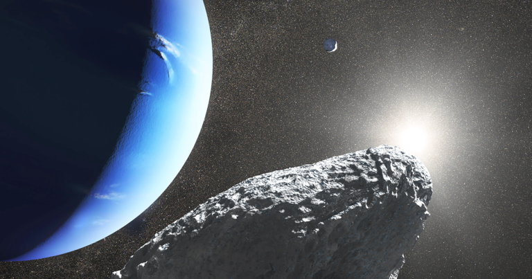 """Meet Hippocamp, """"The Moon That Shouldn't Be There"""""""