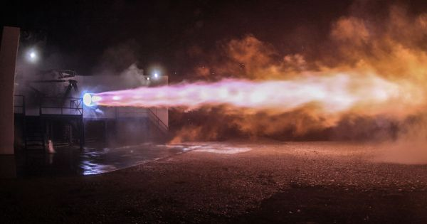 Watch SpaceX Test-Fire the Starship Engine for the First Time