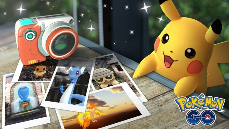 Pokemon Go is getting an AR photo mode