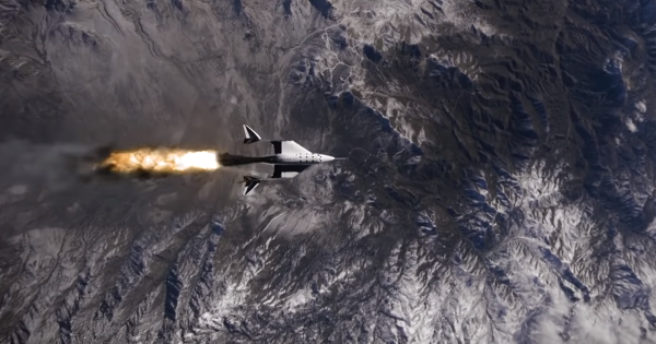 Check Out This Stunning Footage of Virgin Galactic's Space Plane