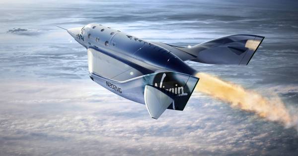 Virgin Galactic's Space Plane Soars to New Heights