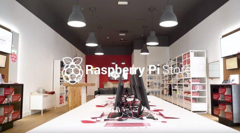 Raspberry Pi opens first high-street store