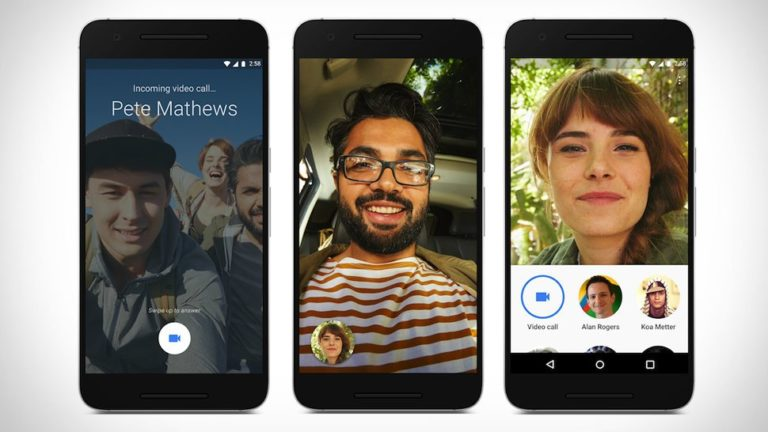 Google Duo video chat service comes to web users