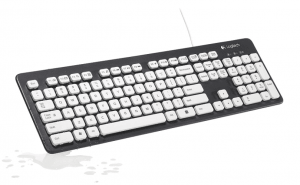 Logitech Washable Wired Keyboard K310,