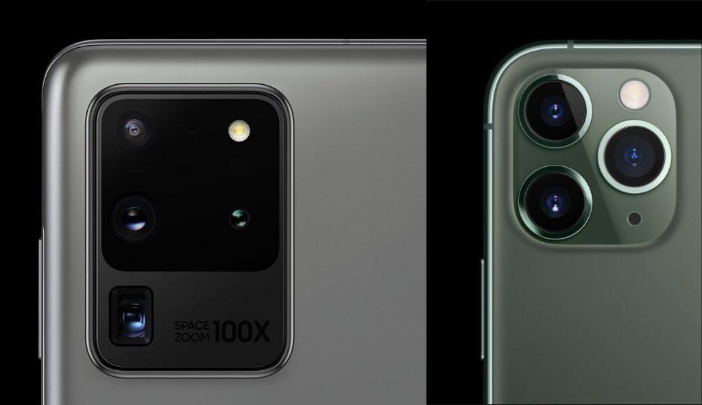Samsung S20 Ultra Vs IPhone 11 Pro Max