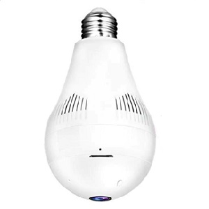 1080p WiFi Bulb Camera