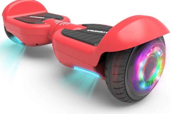 orange hoverboard for kids