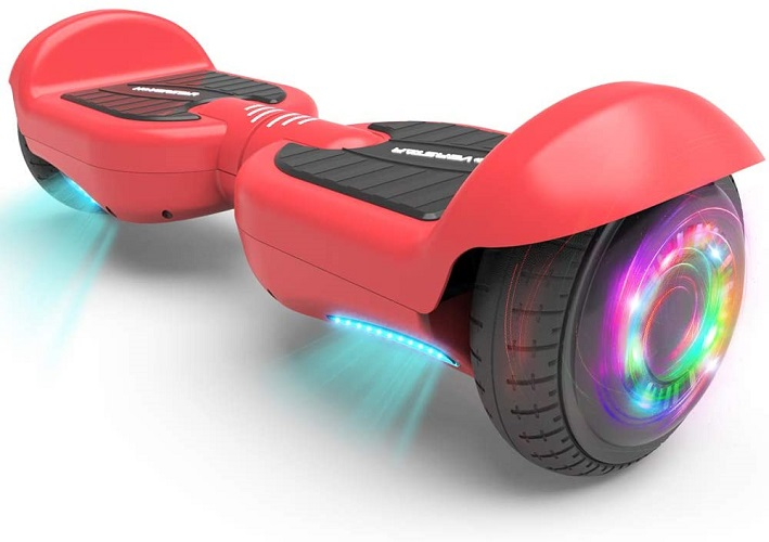 orange hoverboard for kids