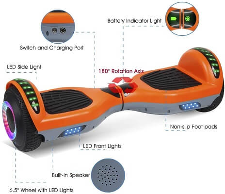 VEVELINE - Best Hoverboard For Kids