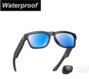 Water resistant audio sunglasses