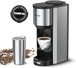 Best Coffee Maker With Grinder Under 100 Dollars