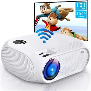 Weton 4200Lux Portable Mini Video Projector