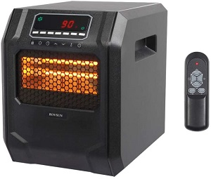 ZOKOP Electric Infrared Quartz Heater