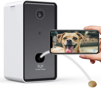 Owlet Home - Pet Camera with Treat Dispenser
