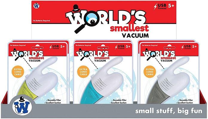 World's Smallest Vacuum